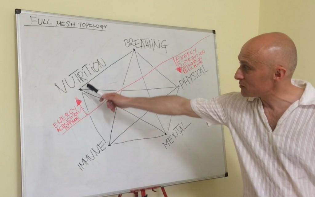 sakharoff pentagram of health