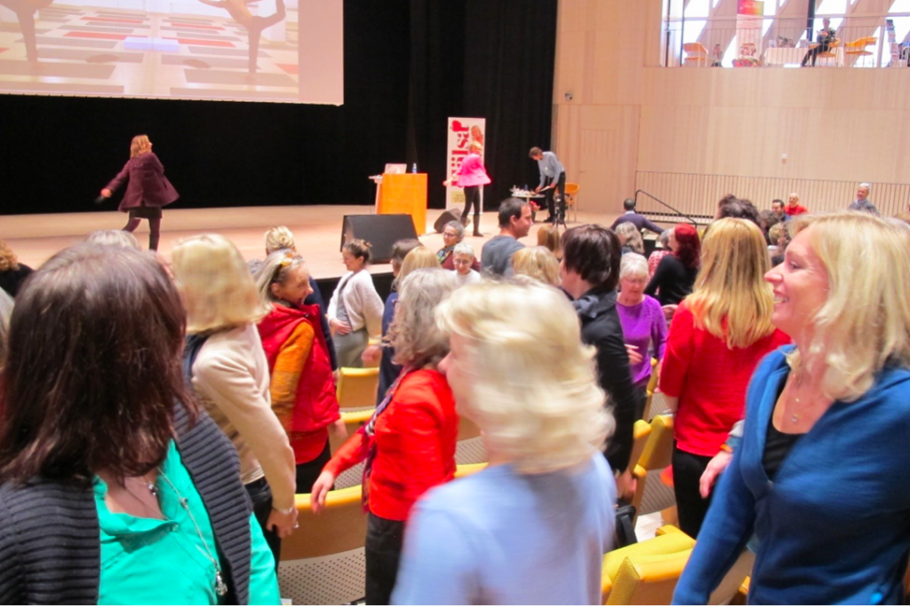 World Breathing Day 2014 conference at the Karolinska Institute in Stockholm.