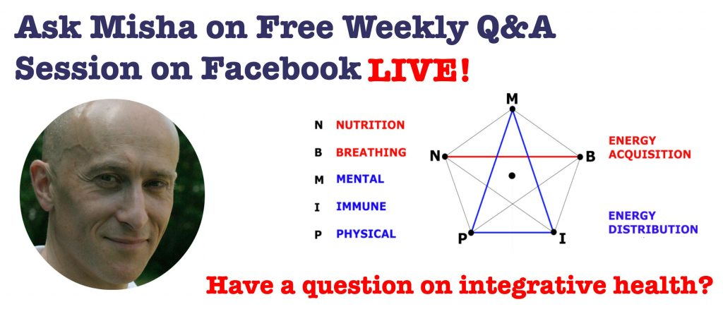 Do you have a question or two? Join me for an open weekly Q&A Session on Facebook Live!
