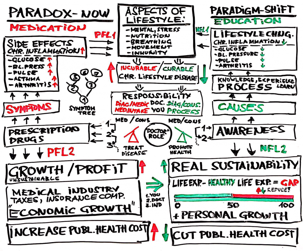Health Paradox and Paradigm - Question of Responsibility