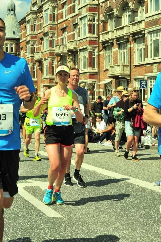 Testimonial - My Most Authentic Marathon! Nana Sefeld Dalby, MSc in Food Innovation and Health