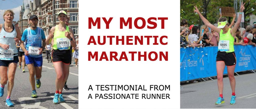 Testimonial - My Most Authentic Marathon!