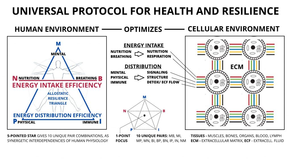 Sakharoff Protocol for Health and Resilience