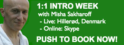 Book 1:1 week with Misha Sakharoff