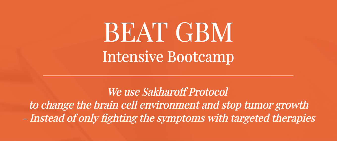 BEAT GBM INTENSIVE BOOTCAMP